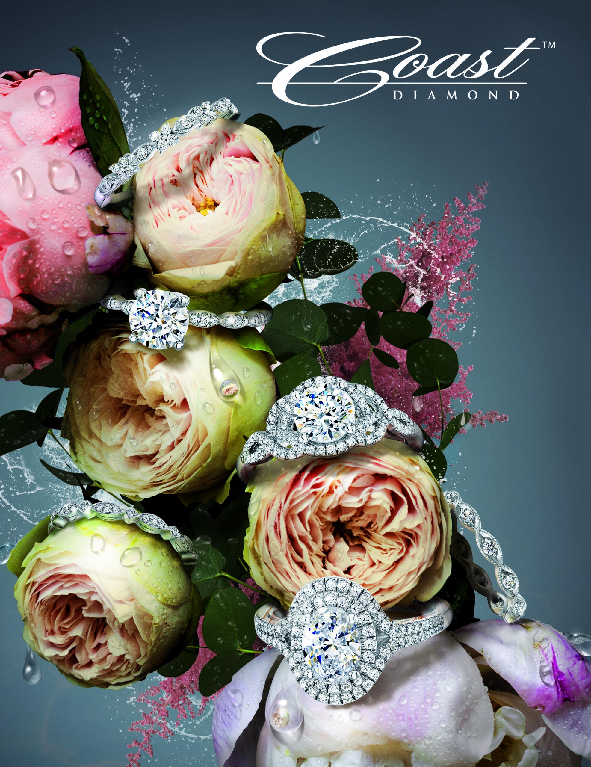 diamond bridal, engagement rings, diamond halo,